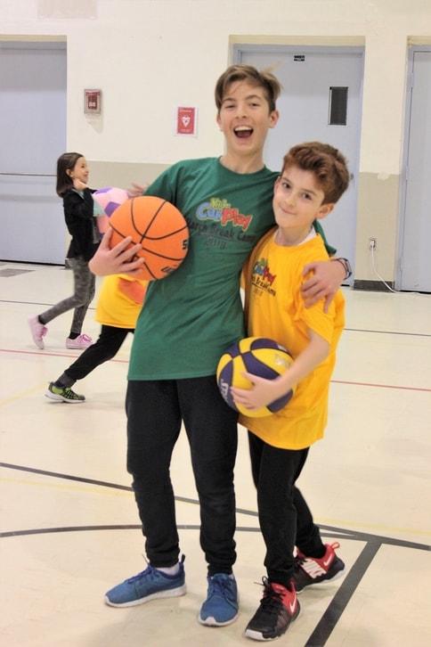Basketball Volunteer