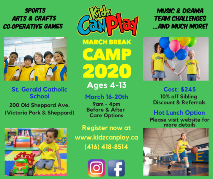 March Break Camp 2020